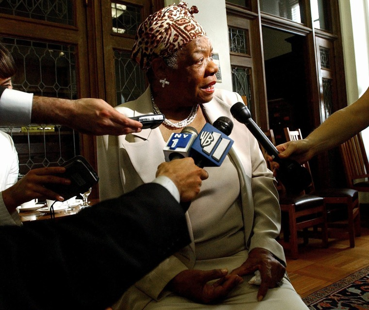 Image: Maya Angelou dies at 86