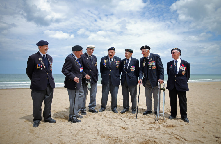 Image: *** BESTPIX *** The 70th Anniversary Of The D-Day Landings Are Commemorated In Normandy