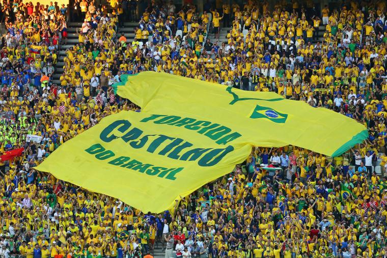 Image: Brazil v Croatia: Group A - 2014 FIFA World Cup Brazil