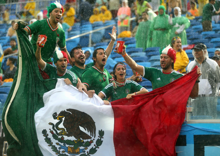 Image: Mexico v Cameroon: Group A - 2014 FIFA World Cup Brazil