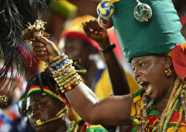 Image: Group G - Ghana vs USA