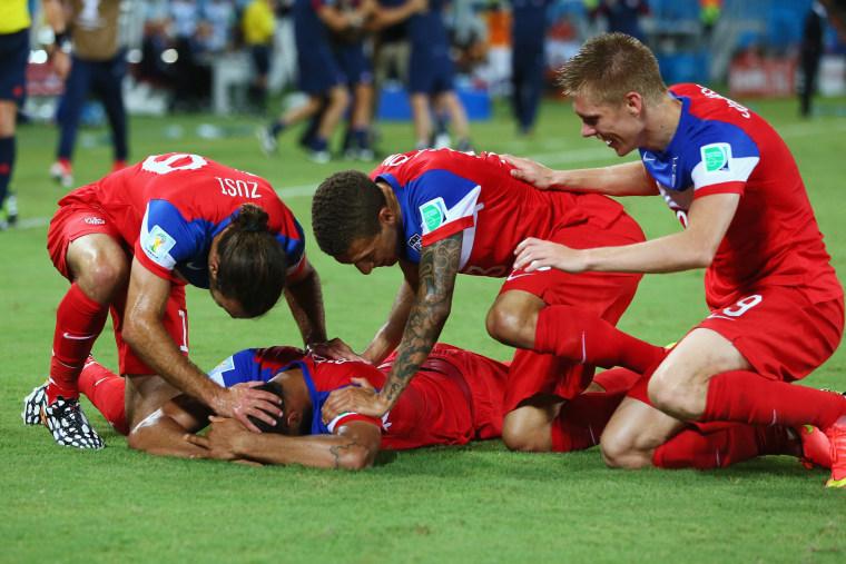 Image: Ghana v USA: Group G - 2014 FIFA World Cup Brazil