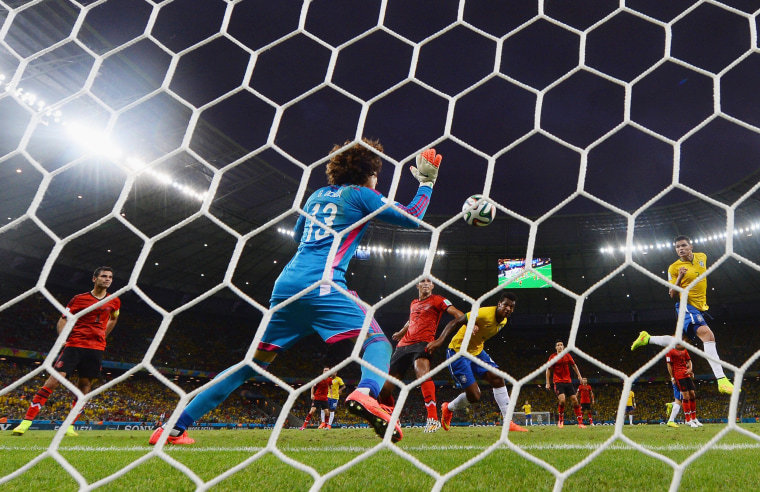 Image: Brazil v Mexico: Group A - 2014 FIFA World Cup Brazil
