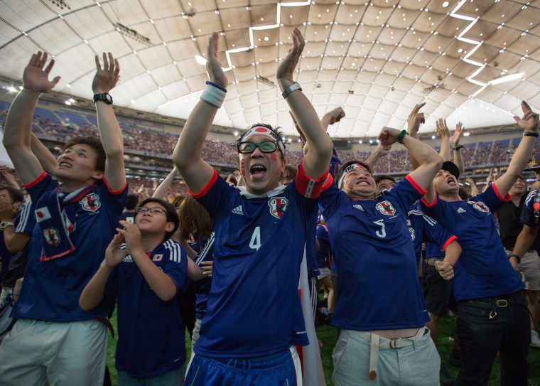 Image: Japan feature FIFA World Cup 2014