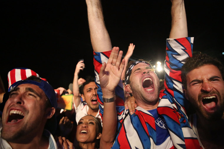 Image: World Cup Fans Gather To Watch Matches In Rio