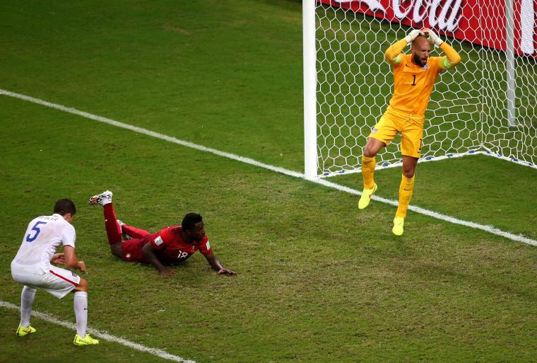 Image: USA v Portugal: Group G - 2014 FIFA World Cup Brazil