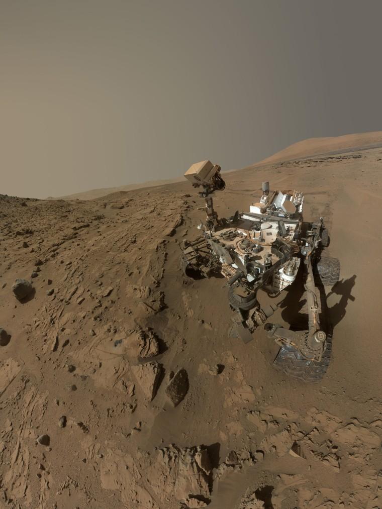 Image: Mars Rover Curiosity