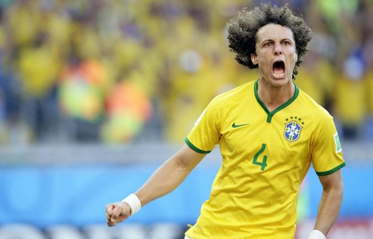 Image: Round of 16 - Brazil vs Chile