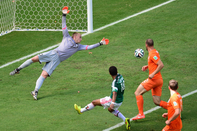 Image: FBL-WC-2014-MATCH51-NED-MEX