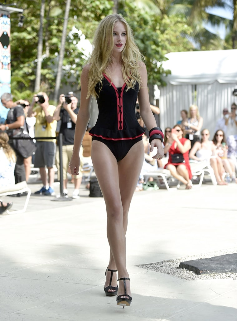 Swimsuit trends at Fashion Week