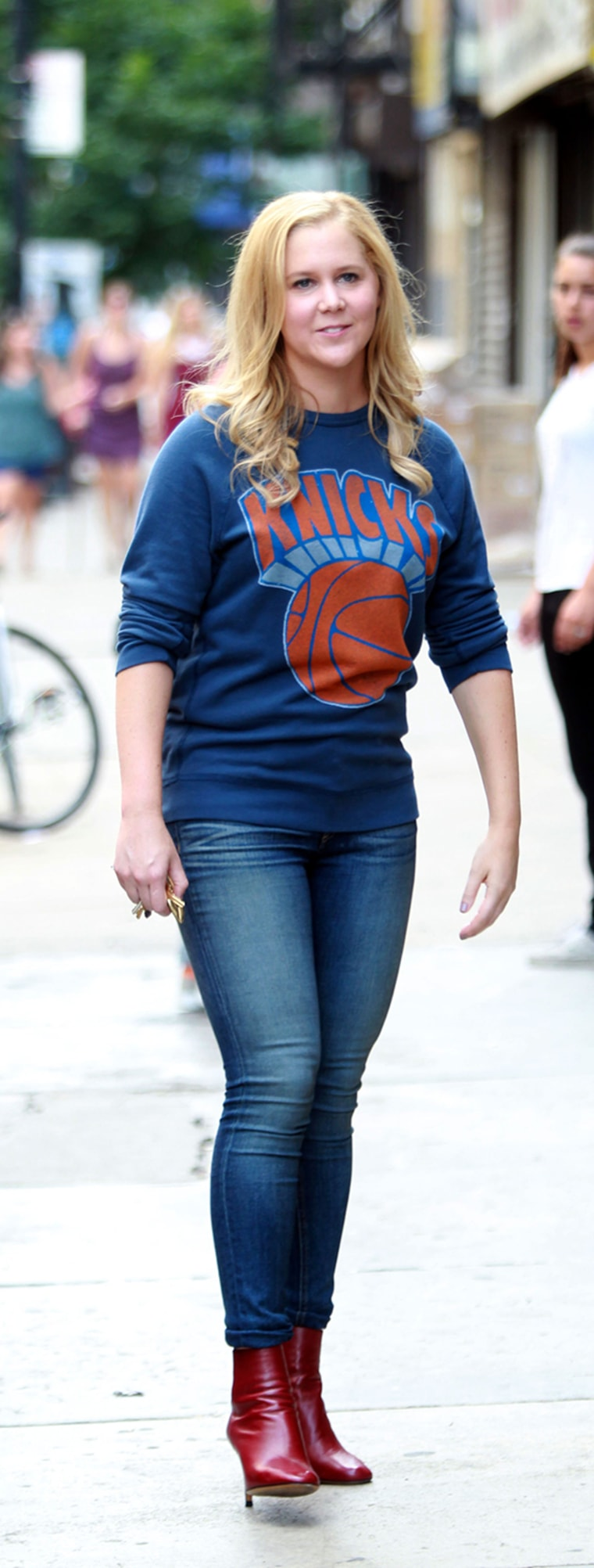 Image: Celebrity Sightings In New York City - July 21, 2014