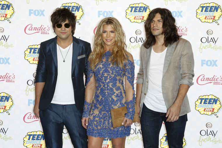 Image: The Band Perry arrives at the Teen Choice Awards 2014 in Los Angeles