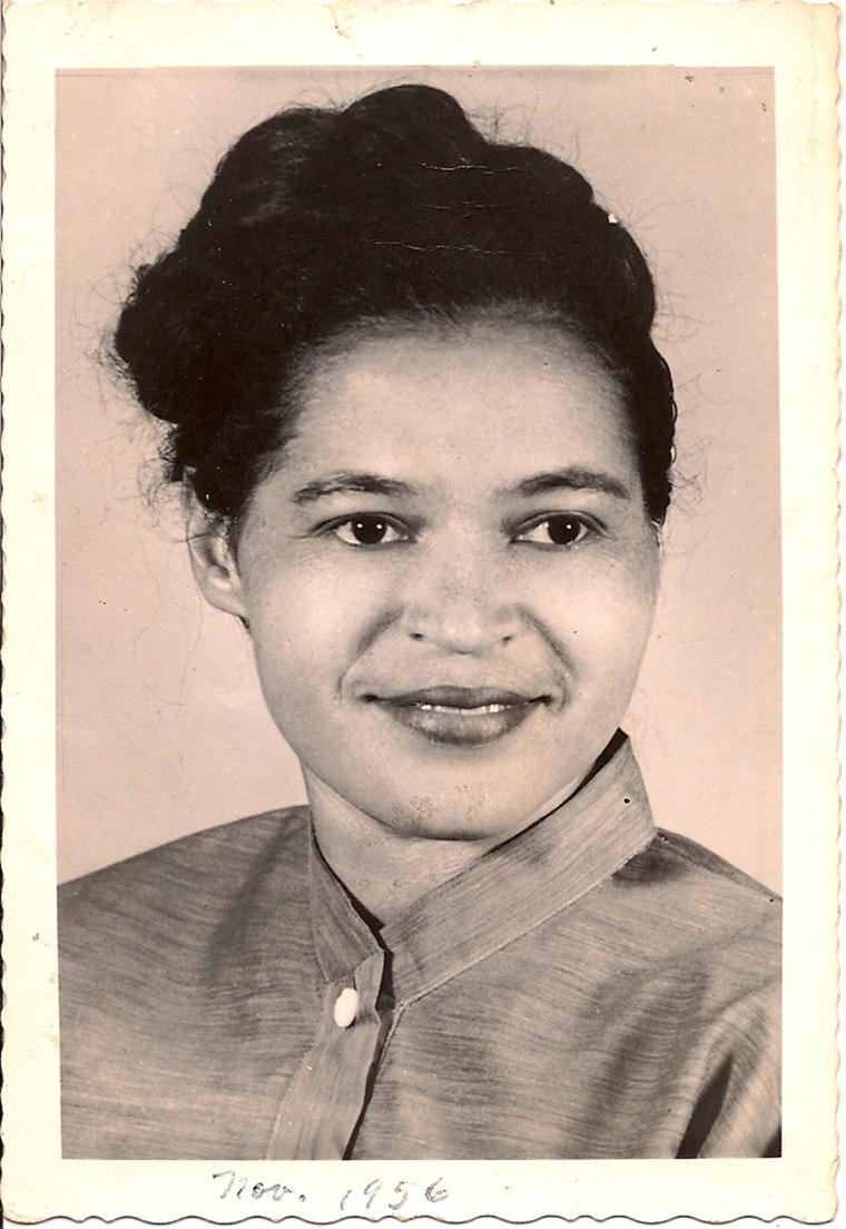Image: Rosa Parks, 1956
