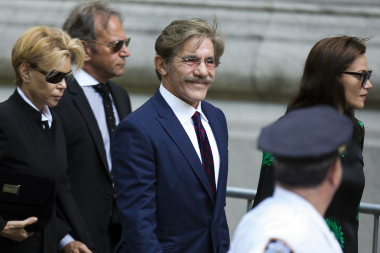 Image: Geraldo Rivera arrives to attend the funeral of comedienne Joan Rivers at Temple Emanu-El in New York