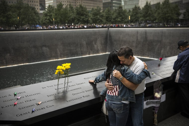 Image: New York Commemorates 13th Anniversary Of September 11th Attacks