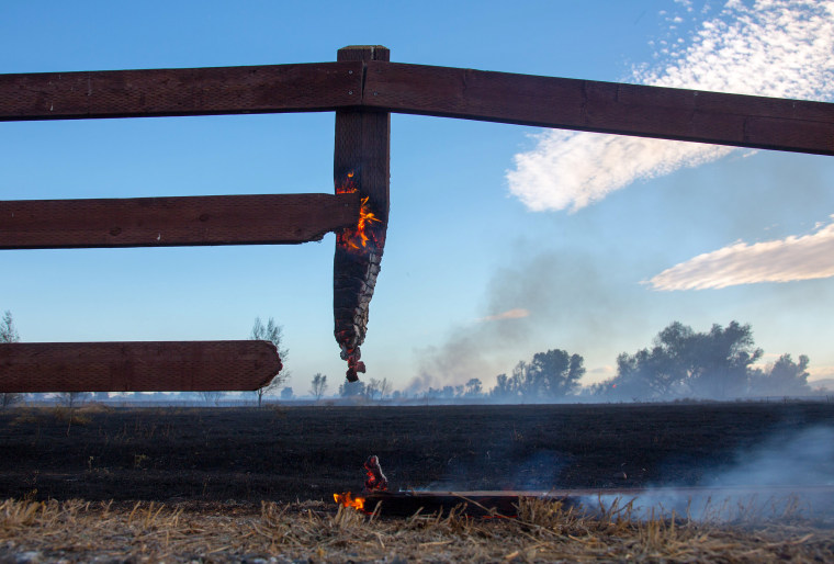Image: Willows fire
