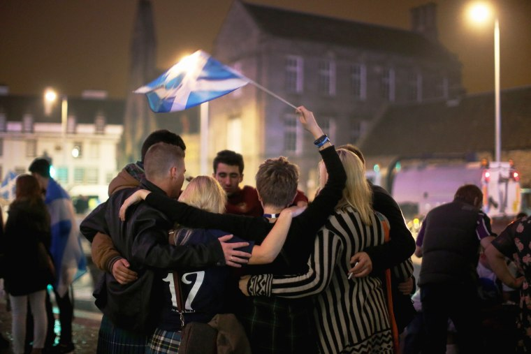 Image: Scotland Decides - The Result Of the Scottish Referendum On Independence Is Announced