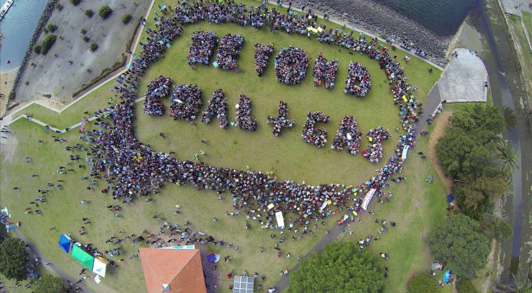 Image: AUSTRALIA-ENVIROMENT-CLIMATE-PROTEST