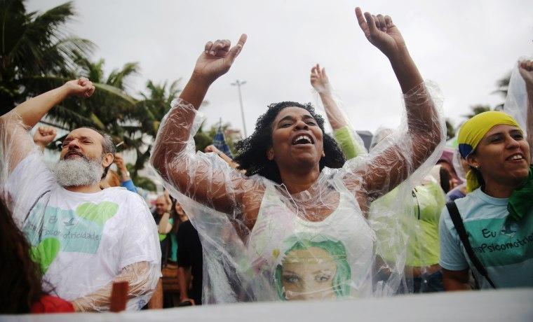 Image: Rio De Janeiro Holds Climate March