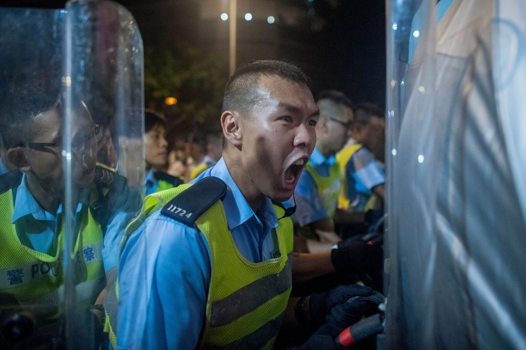 Image: Pro Democracy Supporters Attempt To Bring Hong Kong To A Stand Still With Mass Rally