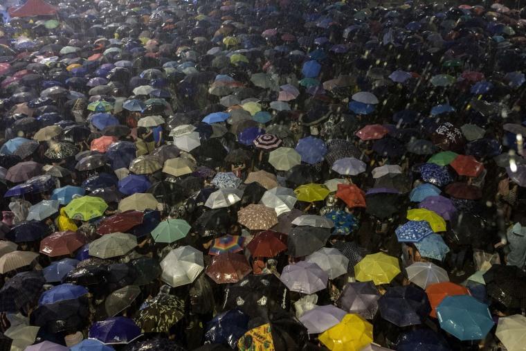 Image: TOPSHOTS-HONG KONG-CHINA-POLITICS-DEMOCRACY