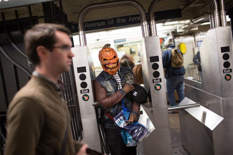 Image: Gotham's Famed Halloween Parade Winds Through New York City