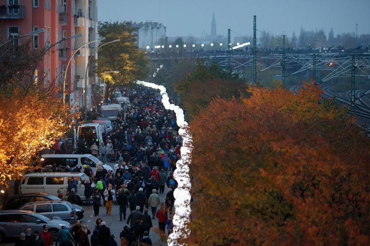 Image: Germany Celebrates 25th Anniversary Of The Fall Of The Berlin Wall