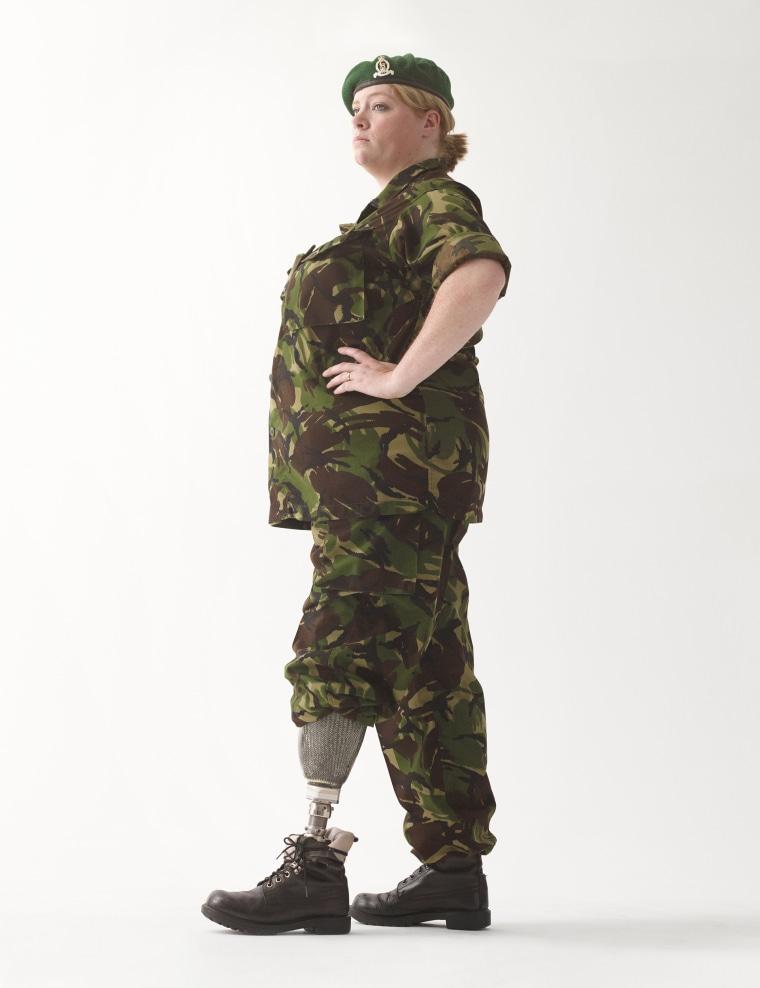 Corporal Hannah Campbell, May 2011.