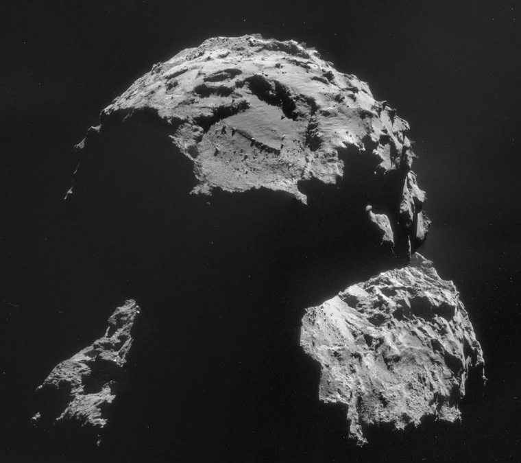 Image: ESA Attempts To Land Probe On Comet