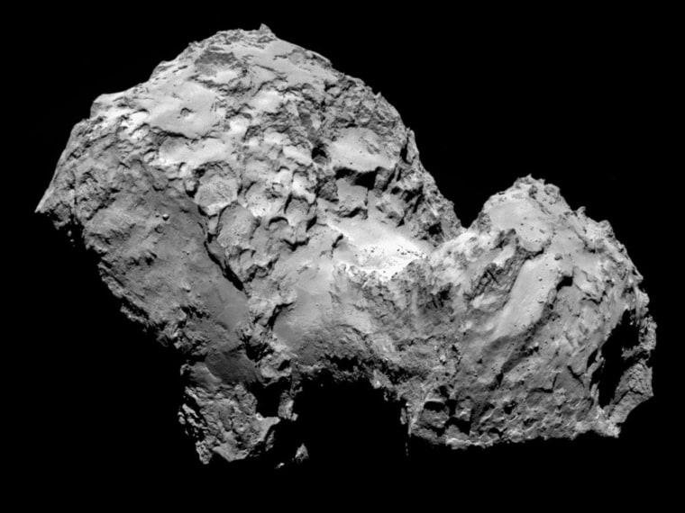 Image: Rosetta Spacecraft Rendezvous With Comet