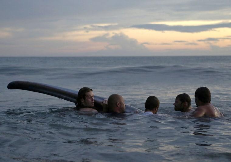 Image: NICARAGUA-WHALE