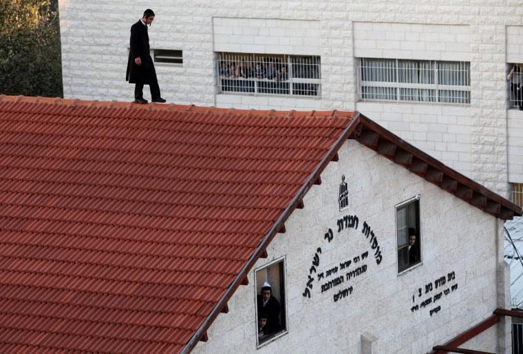 Image: ISRAEL-PALESTINIAN-CONFLICT-JERUSALEM-SYNAGOGUE-ATTACK