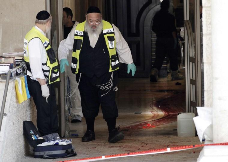 Image: ISRAEL-PALESTINIAN-CONFLICT-JERUSALEM-SYNAGOGUE