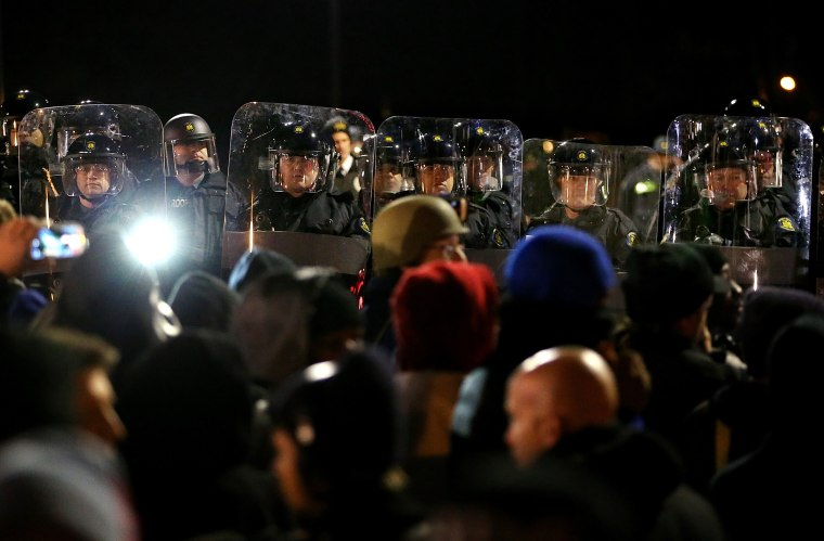 Image: Grand Jury Decision Reached In Ferguson Shooting Case