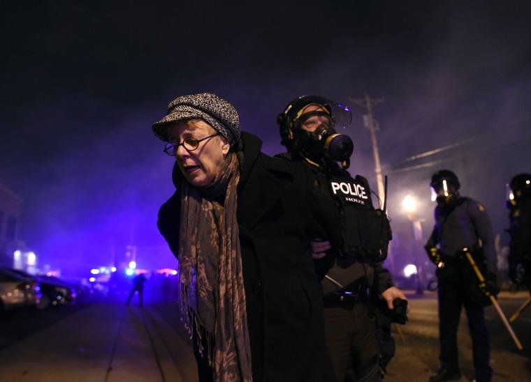 Image: US-CRIME-POLICE-RACE-UNREST