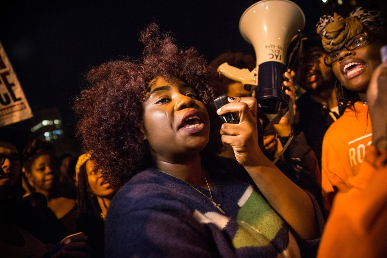 Image: Activists In New York Respond To Ferguson Grand Jury Decision