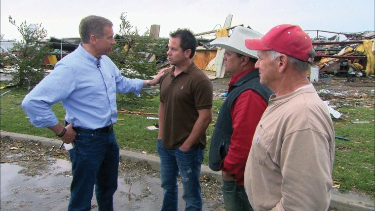 Image: Speaking with residents of Moore, OK after the devastating tornado. Moore, OK, May 2013.