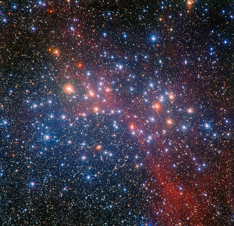 Image: SPACE-SCIENCES-STAR-CLUSTER