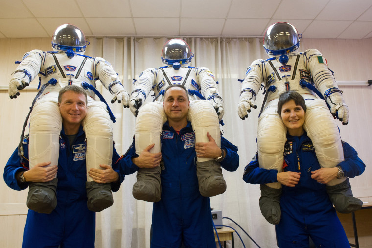 Image: RUSSIA-SPACE-CREW