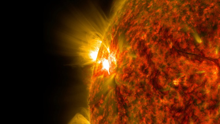 Image: NASA Solar Dynamics Observatory Captures Intense Space Weather