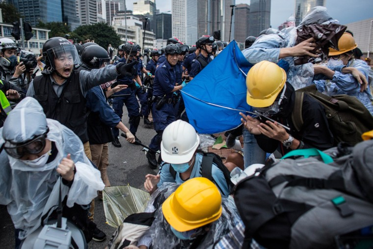 Image: Student Protestors Continue To Occupy Admiralty Site