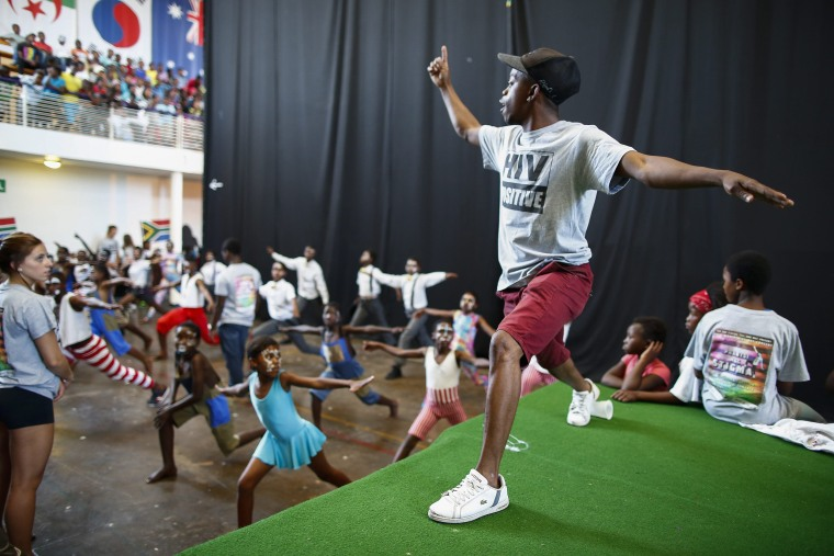 Image: Khayelitsha World Aids Day concert