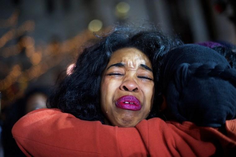 Image: Demonstrators Gather In Philadelphia To Protest Eric Garner Grand Jury Decision