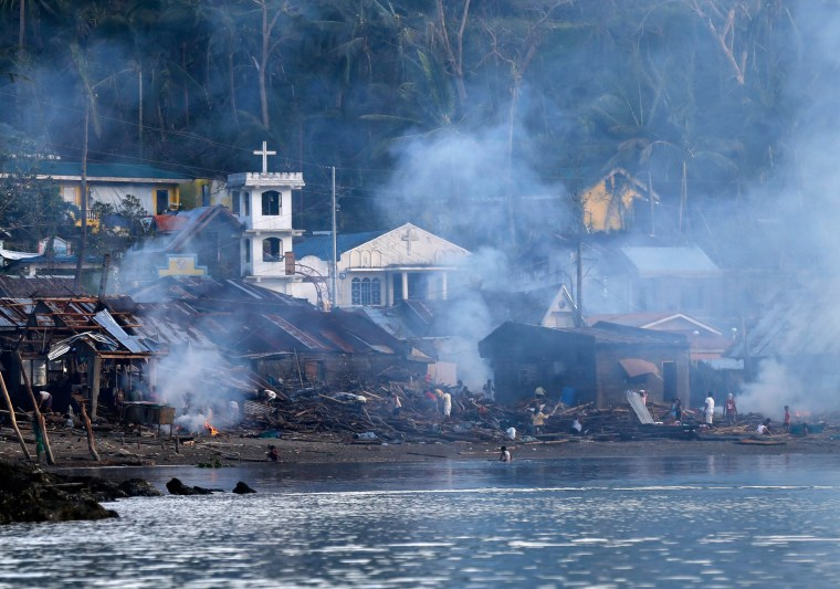 Image: Typhoon Hagupit aftermath in Samar province.