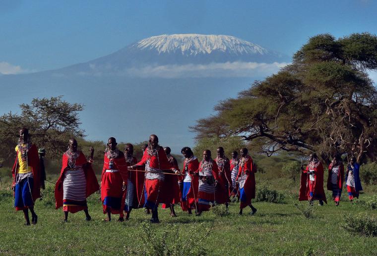 Image: KENYA-ATHLETICS-ENVIRONMENT-OFFBEAT