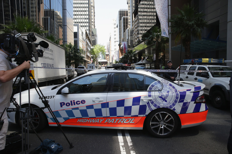Image: Police Hostage Situation Developing In Sydney