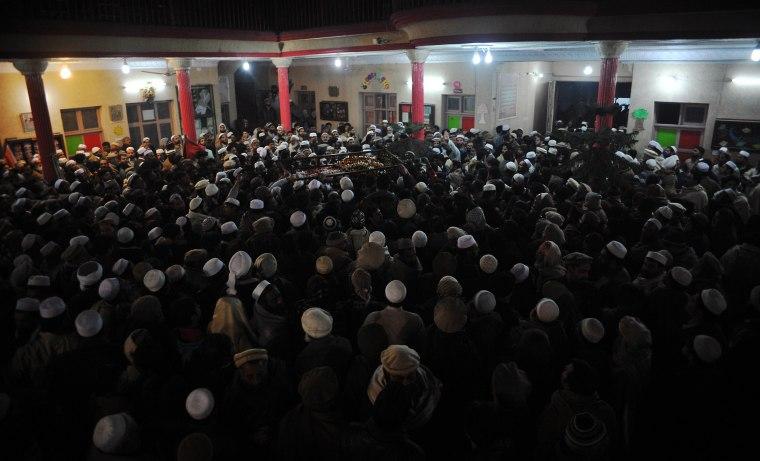 Image: PAKISTAN-UNREST-SCHOOL