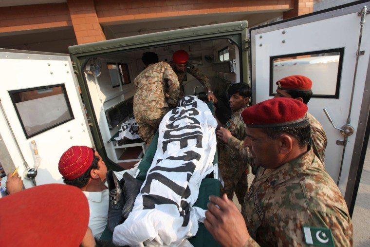 Image: At least 126 killed at Pakistan school under Taliban attack