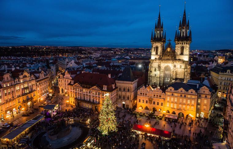 Image: Christmas Market in Prague