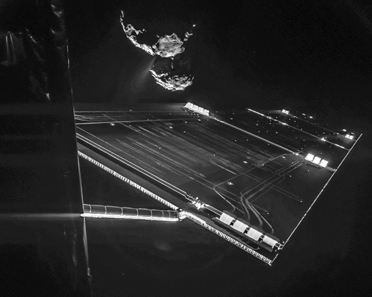 Image: Europe makes history with comet landing